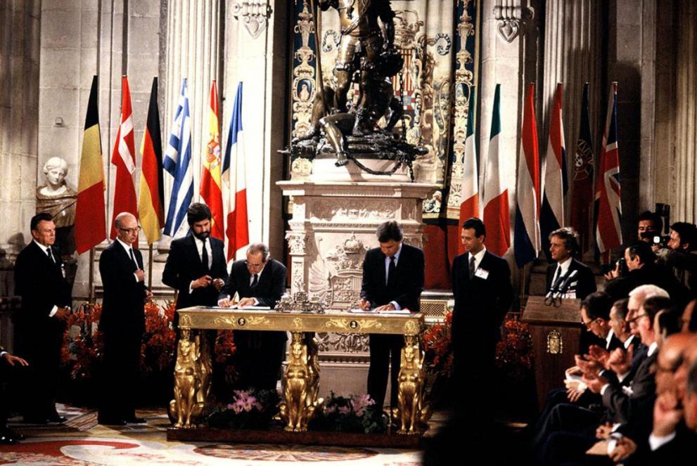Adhesion España Portugal UE
