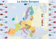 La Unión Europea. Mapa.